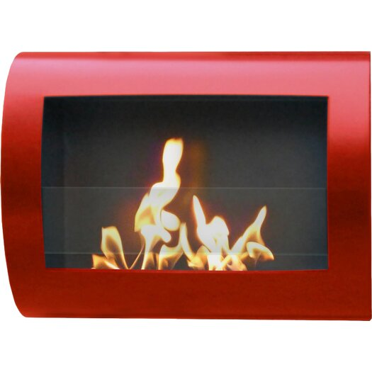 Anywhere Fireplaces Chelsea Wall Mount Bio Ethanol Fireplace