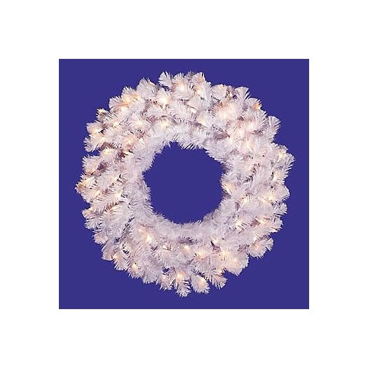 Vickerman Co. Pre-Lit Crystal Wreath