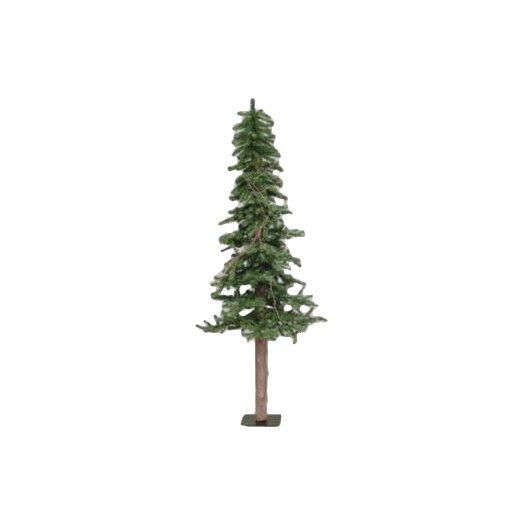 Vickerman Alpine Tree 5' Green Pine Artificial Christmas Tree