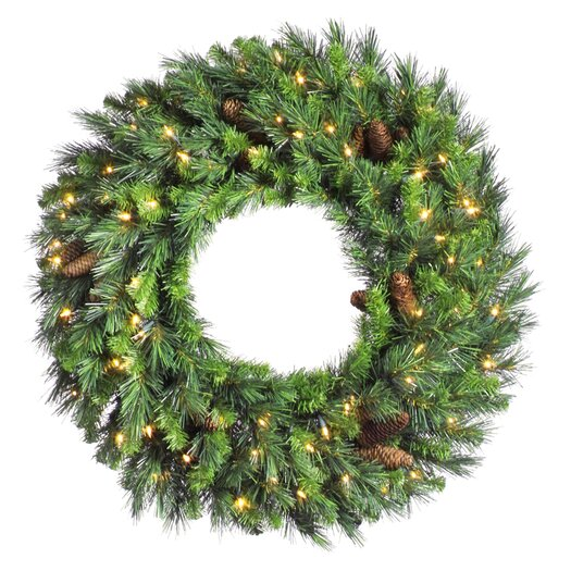 Vickerman Cheyenne Pine Wreath