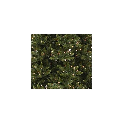 Vickerman Co. Camdon Fir 8.5' Green Slim Fir Artificial Christmas Tree with 800 Pre-Lit Clear Lights with Stand