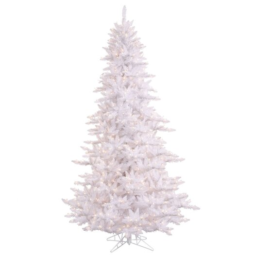 Vickerman 4.5' White Fir Artificial Christmas Tree with 250 Mini Clear Lights
