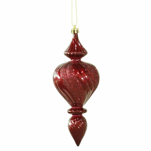 Vickerman Co. Candy Finish Finial Christmas Ornament