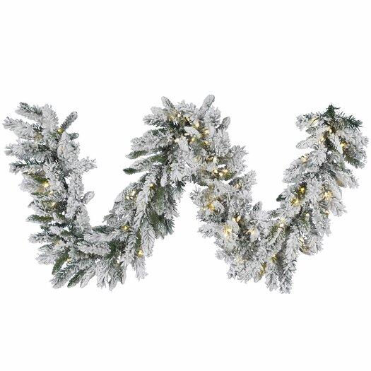 Vickerman Snow Ridge Sprays Garland