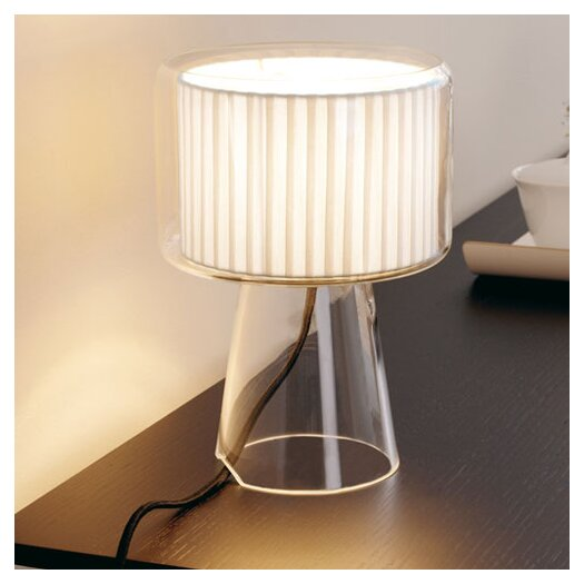 """Marset Mercer M 16"""" H Table Lamp with Drum Shade"""