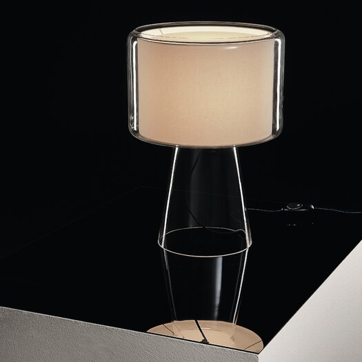 "Marset Mercer 20.7"" H Table Lamp with Drum Shade"