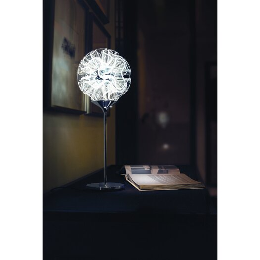 """QisDesign Coral 21.65"""" H Table Lamp with Novelty Shade"""