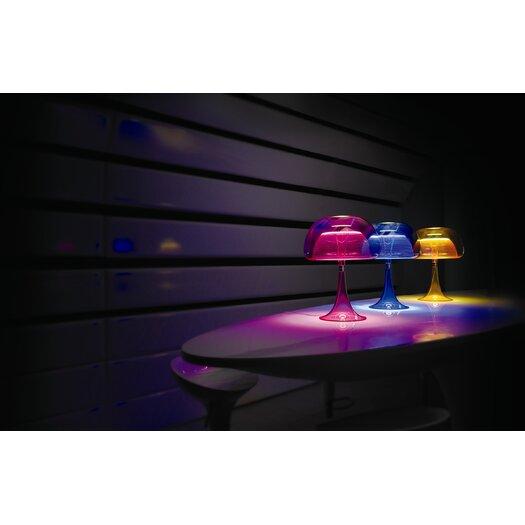 "QisDesign Aurelia 18.11"" H Table Lamp with Globe Shade"
