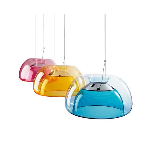 QisDesign Aurelia 1 Light Bowl Pendant