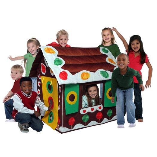 Bazoongi Kids Gingerbread House Playhouse