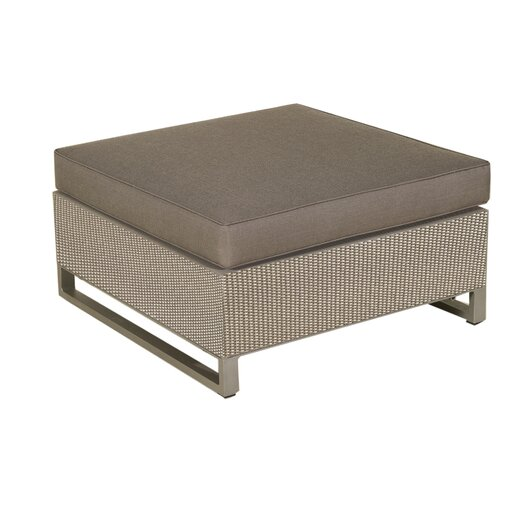 Les Jardins Hegoa Sectional Ottoman with Taupe Cushion