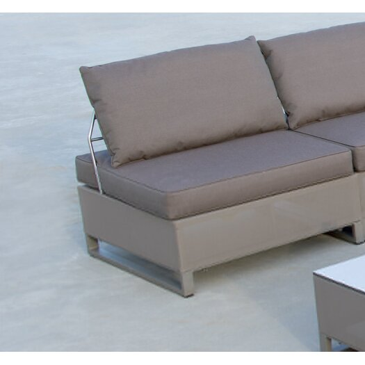 Les Jardins Hegoa 8 Piece Deep Seating Group with Cushion