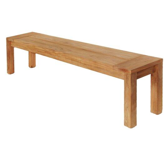 Les Jardins Teak Three Seat Bench