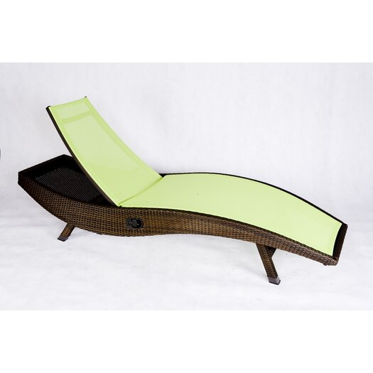 Les Jardins Out of Blue Kahuna Chaise Lounge