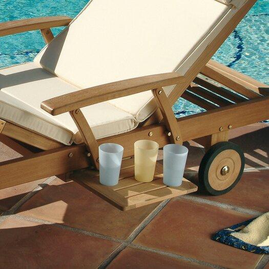 Les Jardins Teak Azur II Armrest Kit for Chaise Lounge