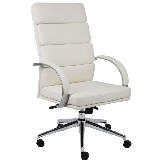 boss office products caressoft plus high back executive
