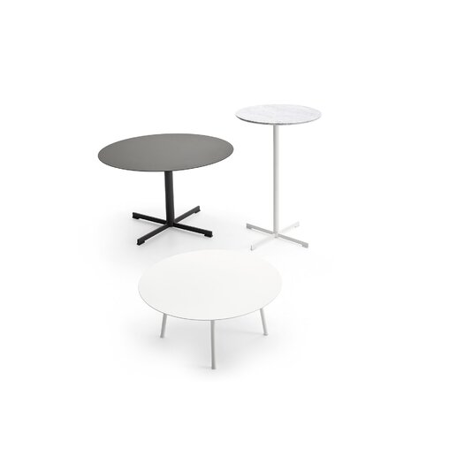 Varaschin summer set low height cocktail table with white for Height of cocktail tables