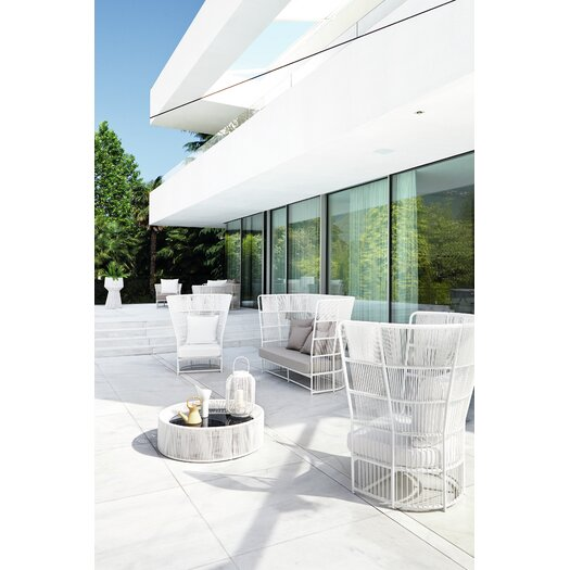 Varaschin Tibidabo Deep Seating Chair in White
