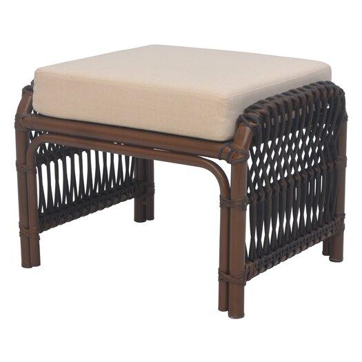 David Francis Furniture Tahiti Ottoman with Cushion