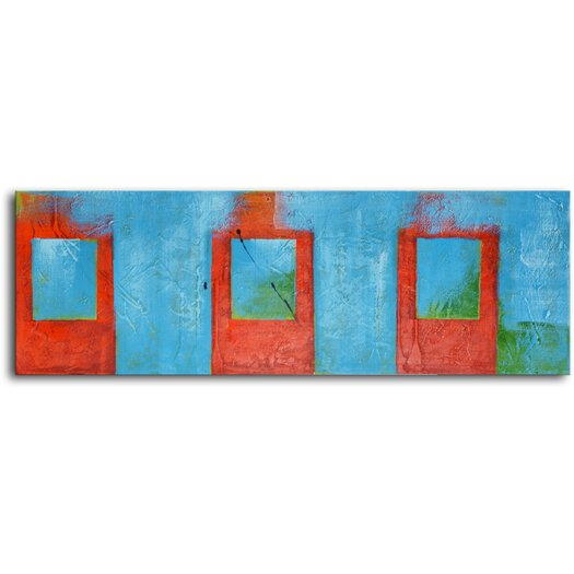 My Art Outlet Iced Tea Original Painting on Wrapped Canvas
