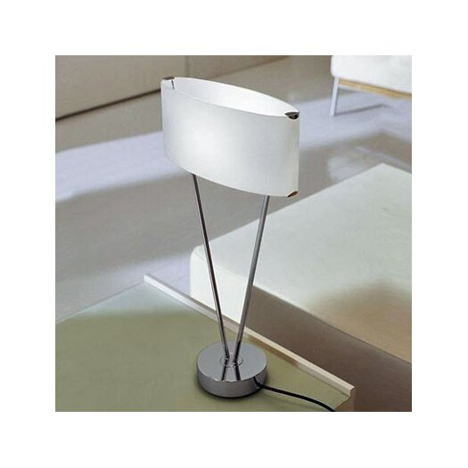 """Leucos Vittoria T1 24"""" H Table Lamp with Oval Shade"""
