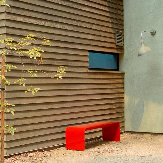 Orange22 Flow Aluminum Picnic Bench