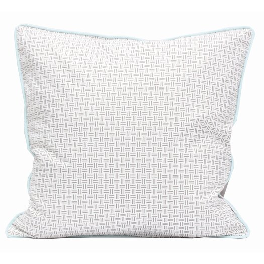 Meo and Friends Friends on Your Pillow Friends on Your Verbi Cotton Throw Pillow