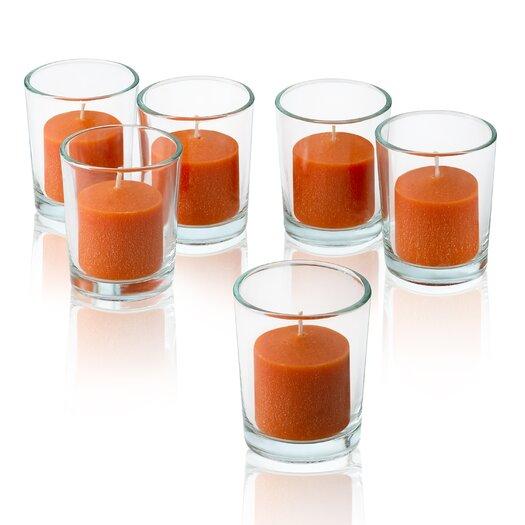 Light In the Dark Orange Mandarin Scented Votive Candles