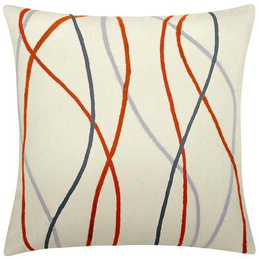 Streamers New Zealand Wool Throw Pillow