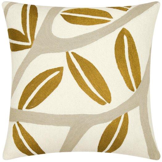 Judy Ross Textiles Branches Wool Throw Pillow