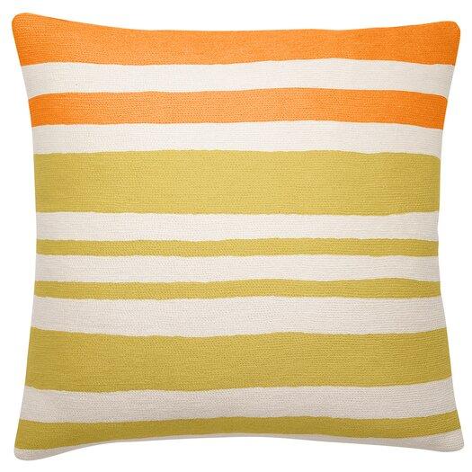 Judy Ross Textiles Landscape Wool Throw Pillow