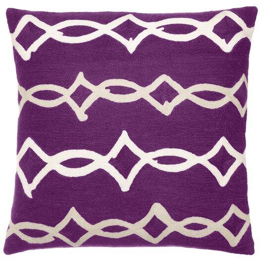 Acrobat Wool Throw Pillow