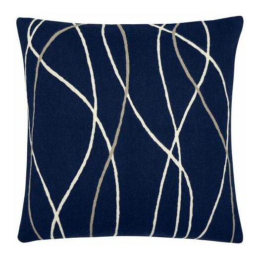 Judy Ross Textiles Streamers Wool Throw Pillow