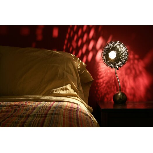 """Lightexture Steamlight 21"""" H Table Lamp with Bowl Shade"""