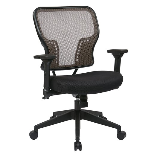 "Office Star Products Space 21.25"" Chair with 2-to-1 Synchro Tilt Control"