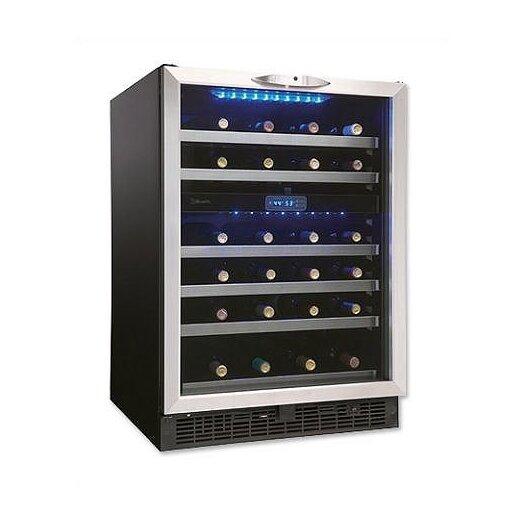 Danby Silhouette 51 Bottle Dual Zone Built-In Wine Refrigerator