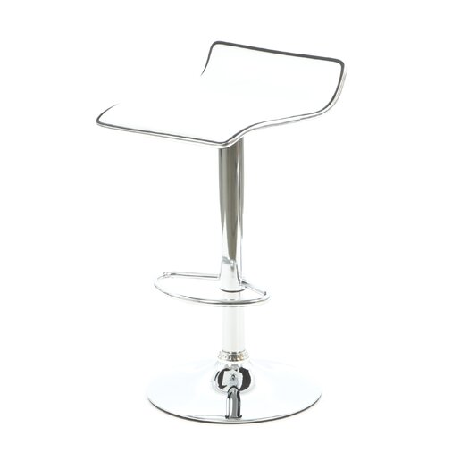 Powell Adjustable Height Bar Stool With Cushion Allmodern