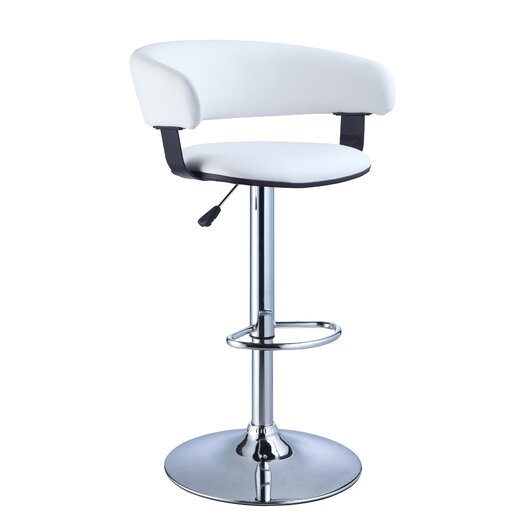 Powell Furniture Adjustable Height Swivel Bar Stool