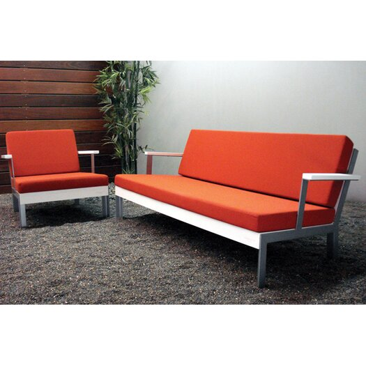 All Modern Outdoor Pillows : Modern Outdoor Etra Sofa with Cushions AllModern