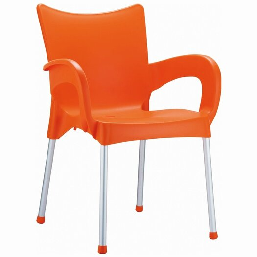 Compamia Romeo Stacking Dining Arm Chair