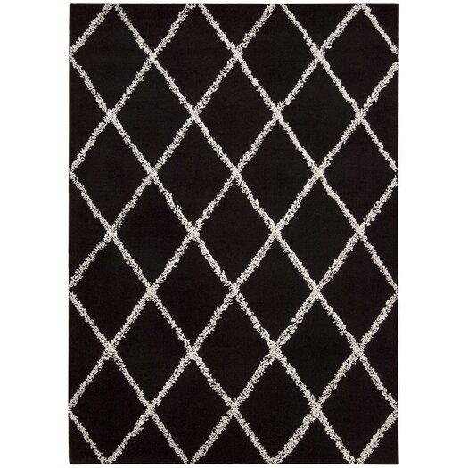 Joseph Abboud Rug Collection Monterey Black / White Rug