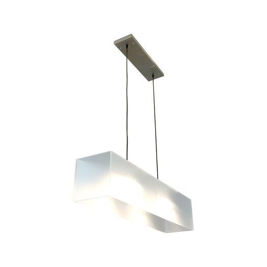 Gus* Modern 2 Light Kitchen Island Pendant