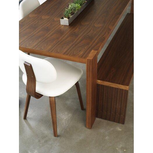 Plank Wooden Kitchen Bench