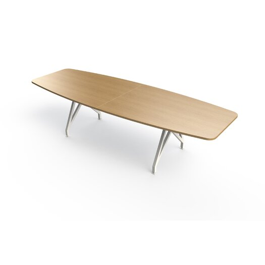 Kayak 12' Boat Shaped Conference Table