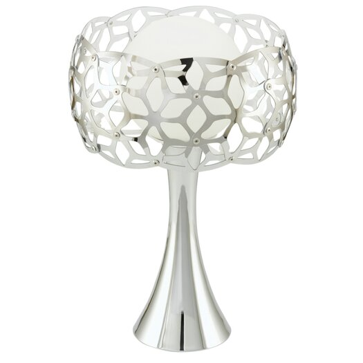 "EGLO Oxana 12.88"" H Table Lamp with Sphere Shade"