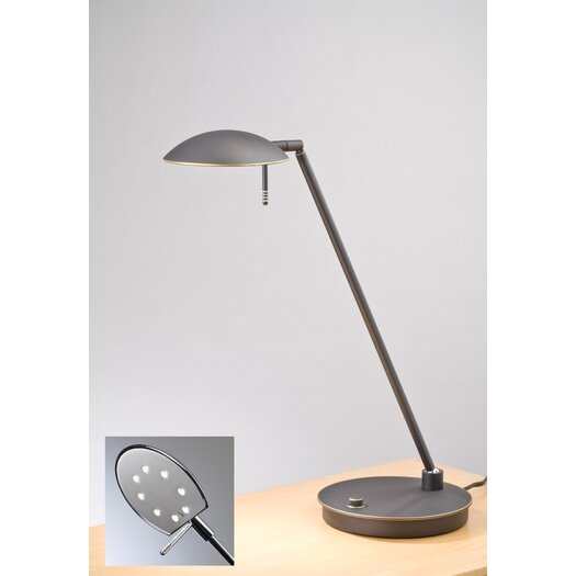 """Holtkötter Bernie 20.5"""" H Table Lamp with Bowl Shade"""