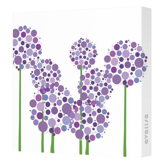 Avalisa Imaginations Allium Canvas Art