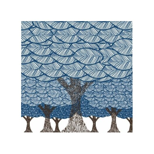 Avalisa Imaginations Forest on Stretched Canvas