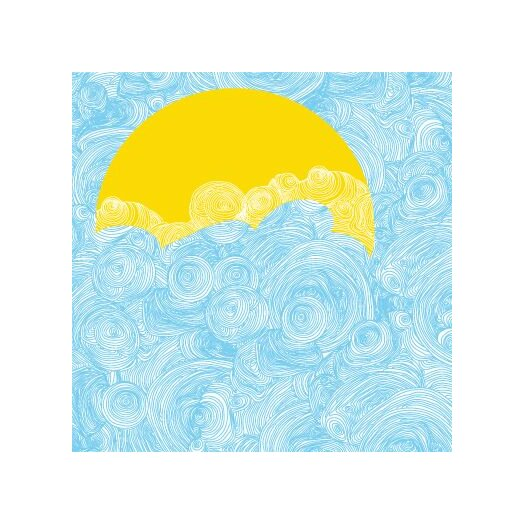 Avalisa Imaginations Sun and Sky Stretched Canvas Art