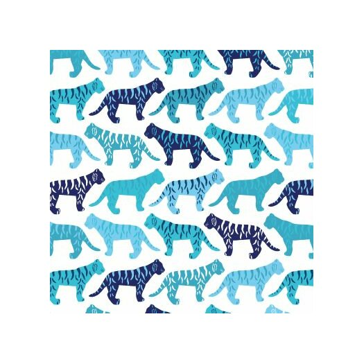 Avalisa Animals Tiger Pattern Stretched Canvas Art
